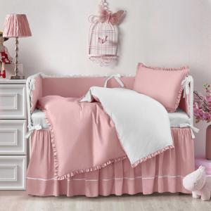 Детское постельное белье Sharmes for MIA. Цвет: розовый
