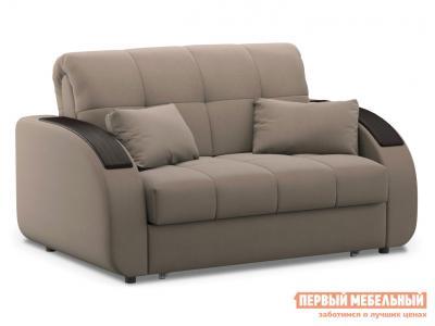 Прямой диван  Уильям / Люкс Латте, велюр , 120х200 см, Независимый пружинный блок Живые диваны. Цвет: бежевый