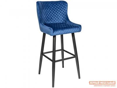 Барный стул  MC15B HLR-65 Королевский синий, велюр STOOL GROUP. Цвет: синий