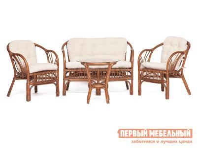Комплект плетеной мебели  NEW BOGOTA Коричневый кокос Tetchair. Цвет: коричневый