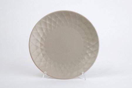 Тарелка десертная 19,5 см Diamond Hoff. Цвет: светло-бежевый