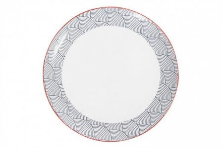 Тарелка обеденная Japanese waves Hoff
