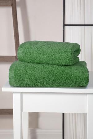 Полотенца Karna. Цвет: зеленый