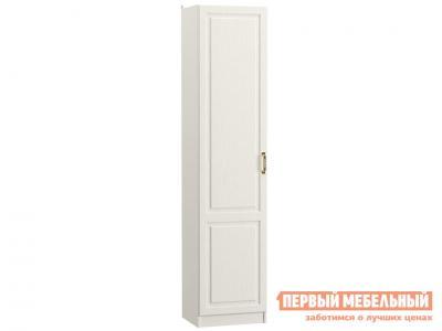 Распашной шкаф  1 дв Ливерпуль Ясень Ваниль / Белый, Без карниза Моби. Цвет: белый