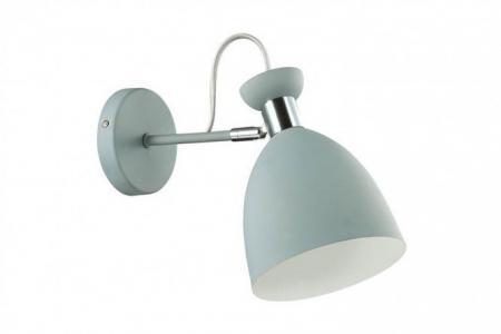 Бра Lumion Kizzy Odeon Light. Цвет: матовый серый, хром