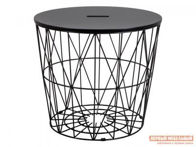Журнальный столик  Стол JUMBO Черная МДФ / Черный металл Sedia. Цвет: черный