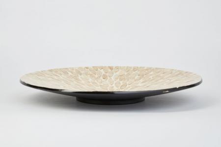 Декоративное блюдо 40 см Золотой песок Hoff
