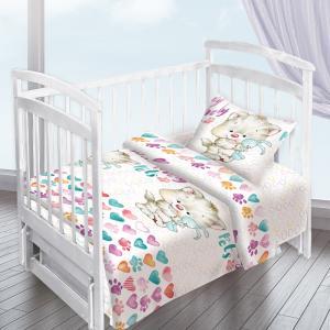 Детское постельное белье Valtery. Цвет: кремовый