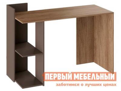 Письменный стол  тип 1 Дуб Каньон Светлый / Серый ТриЯ. Цвет: серый