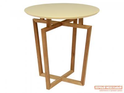Журнальный столик  Рилле 440 Бук / Бежевый Мебелик. Цвет: бежевый