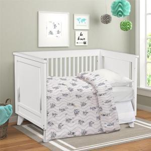 Покрывала, подушки, одеяла для малышей Непоседа. Цвет: белый, серый