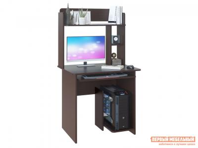 Компьютерный стол  КСТ-21.1 + КН-01 Венге Сокол. Цвет: венге
