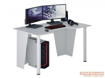 Компьютерный стол  МСТ-СИФ-02 игровой Форсаж-2 Белый МФ Мастер. Цвет: белый