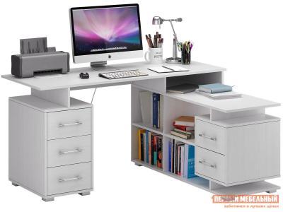 Компьютерный стол  Барди-3 угловой Белый МФ Мастер. Цвет: белый
