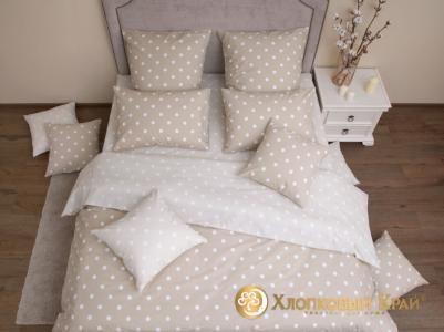Комплекты постельного белья Хлопковый Край. Цвет: бежевый, кремовый