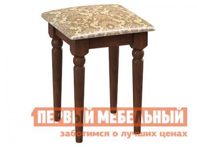 Табурет  Т34 Дуб / Ткань жаккард № 31 ДИК. Цвет: коричневый