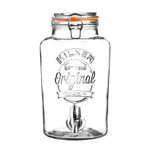 Диспенсер для напитков сlip top (8 л) (coolline) прозрачный 27x36x20 см. Coolline. Цвет: прозрачный