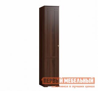 Распашной шкаф  Sherlock 9 (гостиная) для белья / 91 Правый Орех Шоколадный, Левый Глазов. Цвет: коричневое дерево