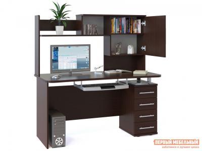 Компьютерный стол  КСТ-105.1+КН-14 Венге Сокол. Цвет: венге