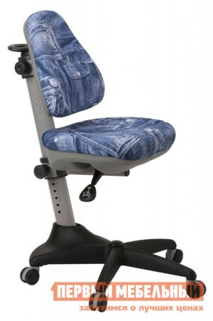Детское компьютерное кресло  KD-2 50-31 синий джинса Бюрократ. Цвет: синий