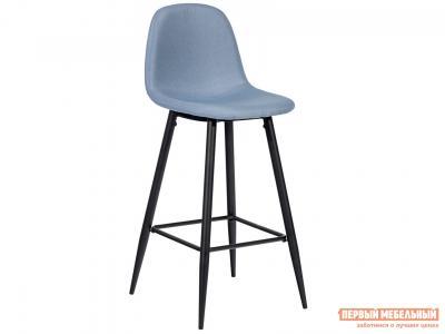 Барный стул  Валенсия Небесно-голубой, рогожка Stool Group. Цвет: синий