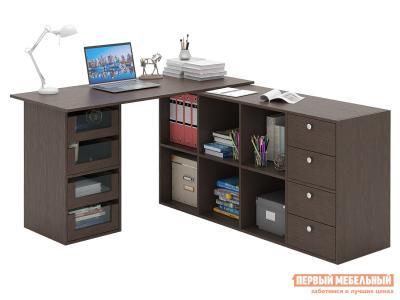 Письменный стол  Прайм-83 Венге МФ Мастер. Цвет: венге