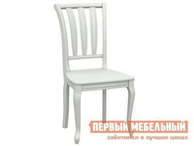 Стул  Кабриоль жесткий Белая эмаль АВРОРА. Цвет: белый