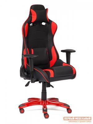 Игровое кресло  iForce Иск. кожа черная / Карбон черный красная Tetchair. Цвет: черный