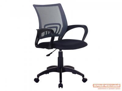 Офисное кресло  CH-695NLT TW-11 Черный, ткань / TW-04 Серый, сетка Бюрократ. Цвет: серый