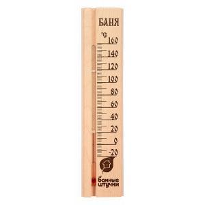Термометр (7x28x2.1 см) 18037 Банные штучки. Цвет: бежевый