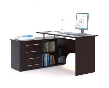 Компьютерный стол  КСТ-109 Венге, Левый Сокол. Цвет: венге