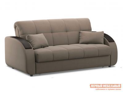 Прямой диван  Уильям / Люкс Латте, велюр , 160х200 см, Независимый пружинный блок Живые диваны. Цвет: бежевый
