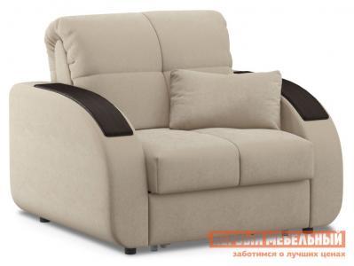 Кресло  Кресло-кровать Уильям / Люкс Бежевый, велюр , Независимый пружинный блок Живые диваны. Цвет: бежевый