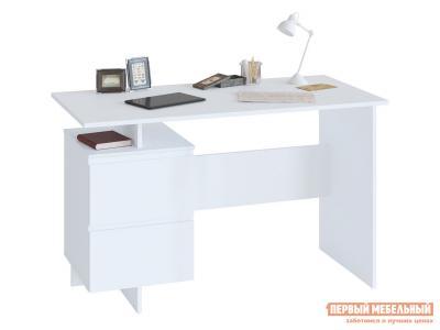 Письменный стол  СПм-19 Белый Сокол. Цвет: белый
