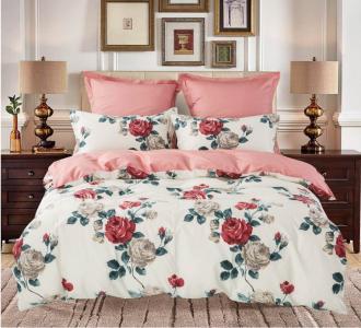 Комплекты постельного белья СайлиД. Цвет: персиковый