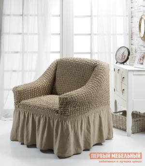 Чехол для мебели  кресла Стамбул Кофейный KARNA. Цвет: коричневый