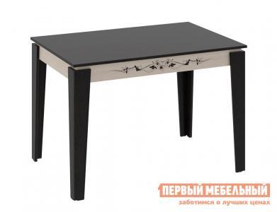 Кухонный стол  Лацио Тип 1 обеденный Венге Цаво / Дуб Белфорт ТриЯ. Цвет: темное-cветлое дерево
