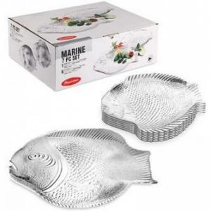 Набор тарелок Marine Pasabahce